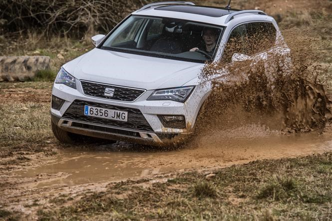 SEAT Ateca Limited Edition :: Foto is ter illustratie